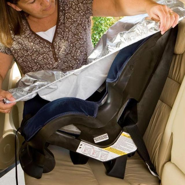 Car Seat Baby Seat Sun Shade Protector For Children Kids Aluminium Film Sunshade UV Protector Dust Insulation Cover 80x70cm 1