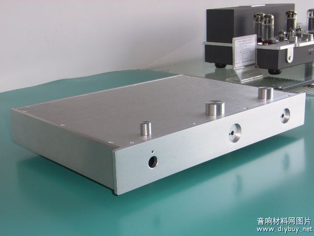 2018 amplifier Full aluminum Silver Power amplifier chassis /Tube amplifier Chassis/AMP case Enclosure /DIY BOX zov