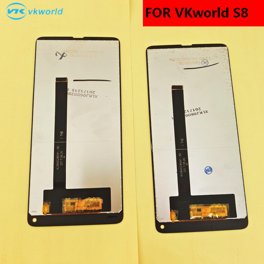 Image 5 - الأصلي ل VKworld S8 شاشة الكريستال السائل + شاشة تعمل باللمس + أدوات محول الأرقام الجمعية استبدال اكسسوارات ل فون 5.99screen touch5 screenscreen assembly -
