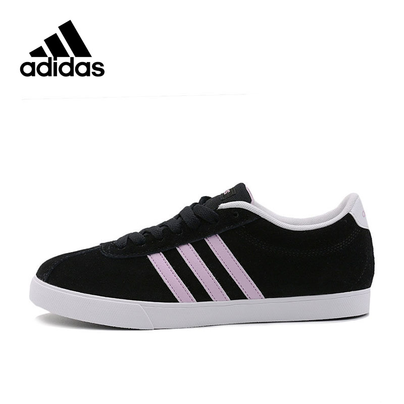 все цены на Adidas Official New Arrival 2017 NEO Label Courtset W Women's Skateboarding Shoes Sneakers B74556/B74558