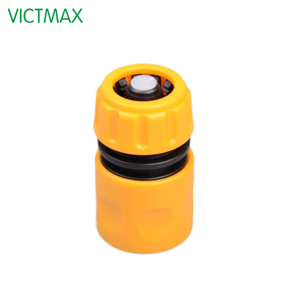 VICTMAX 1/2 Inch Plastic Garden Water Pipe Connector Car Washing ...