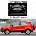 Protoctor оконная рама из нержавеющей стали  Накладка для автомобиля  Стайлинг для Ford Ecosport