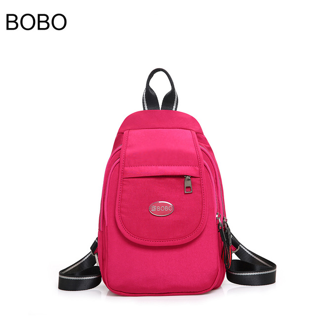 nuovo arrivo e67fd f0899 US $22.28 |Nero zaini borse da viaggio multifunzione zaino piccole donne  borsa da spiaggia sacco universitari bagpack per le ragazze della scuola ...