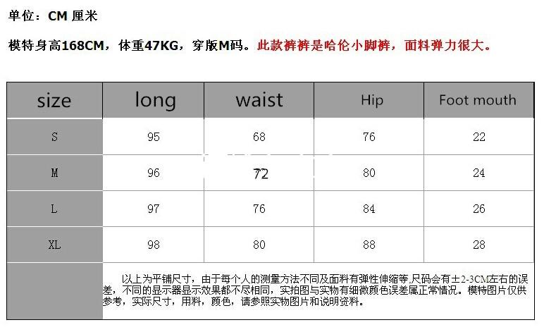 2016ฤดูใบไม้ผลิใหม่ส่วนบุคคลหลายซิปกางเกงยีนส์กางเกงลำลองบางหลวมกางเกงHarenน้ำ  IOW Natural 1