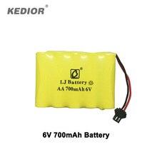 Monstruo DEL RC 6 V 700 mAh batería accesorios para Kedior Coches de Control Remoto 1:18 rc coche de alta velocidad de piezas