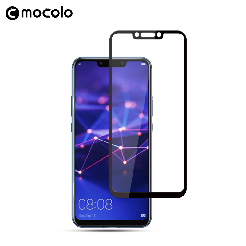 Mocolo 2.5D 0.33mm Full Screen Cover 9H Hard Screen Protector Tempered Glass For Huawei Mate 20 Lite Glass Film for mate 20 lite