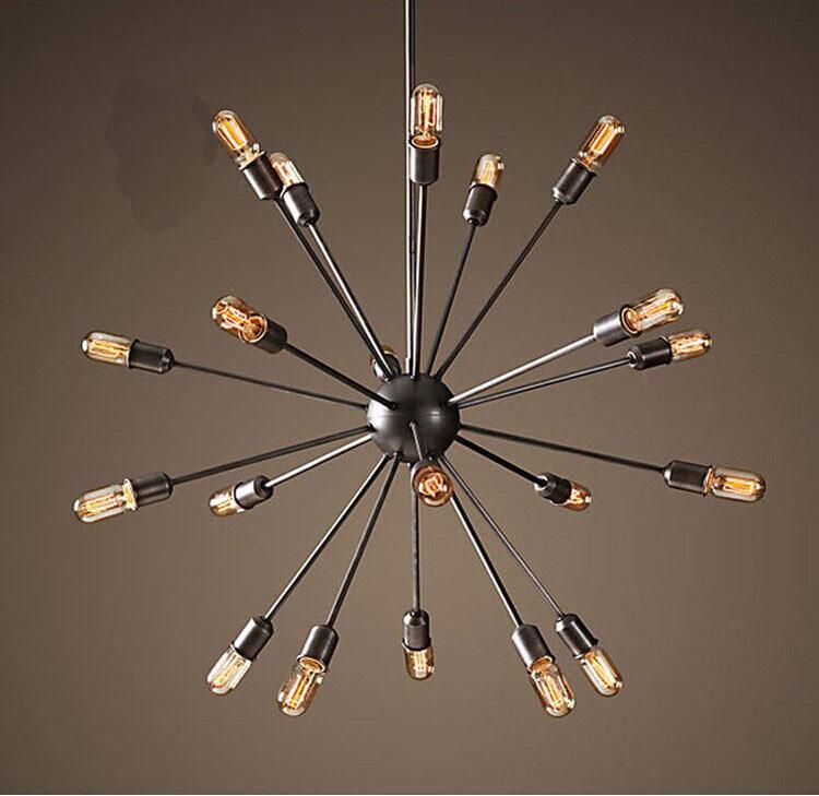 Retro Industrie Anhnger Licht Leuchtet Edison Wohnzimmer Esszimmer Lampe Knstliche Bar Kleidung