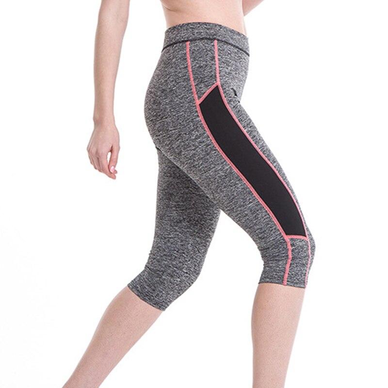 2016 Mulheres Ginásio Leggings Workout Treinamento Exercício Esporte  Execução Roupas de Fitness Roupas de Yoga Para Sliming Calças Esportivas  Caminhadas 8cda33aa0a448
