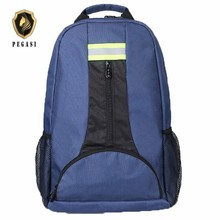 PEGASI Oxford Fabric Shoulders Multi-function Outdoor thicken Backpack Electricians Tool Bag Blue maintenance Durable toolbag