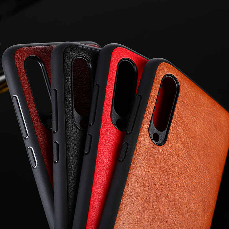 case for xiaomi mi 9 mi9 se funda luxury Vintage Leather skin capa with hard phone cover for xiaomi mi 9 mi9 se case coque capa