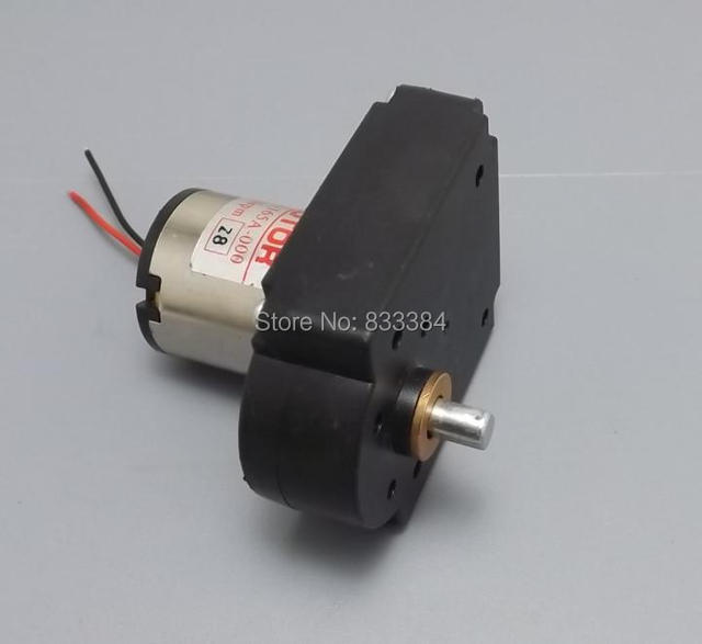 HOT SALE 2pcs 7 font DC hand generator DC gear motor 6V 24V 10W 500mA 32 130 RPM high quality in DC Motor from Home Improvement on Aliexpresscom