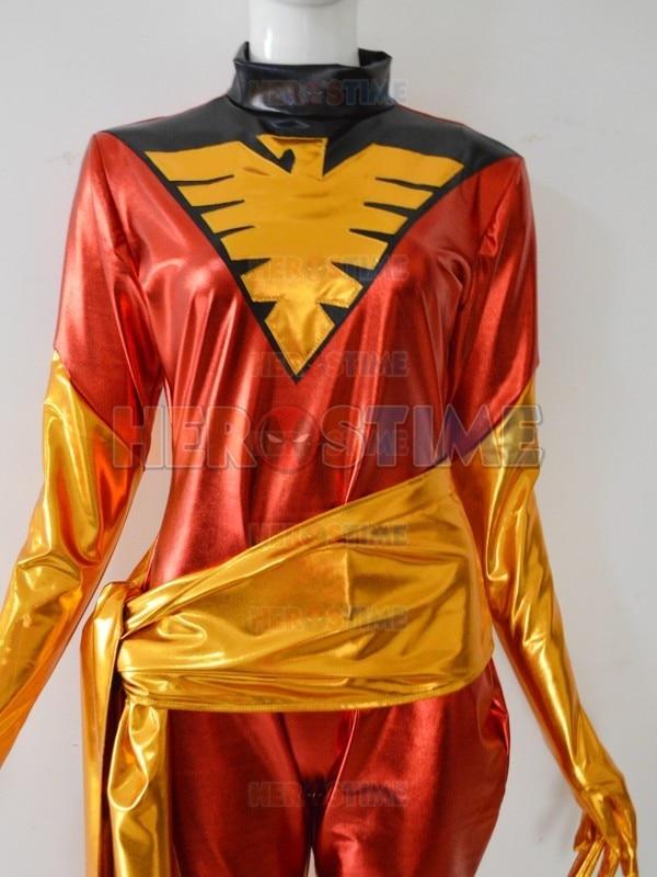 how to make a dark phoenix costume
