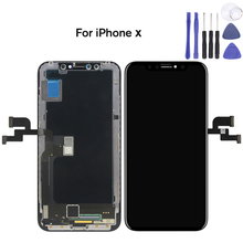 High Quality For Tianma iPhone X TFT LCD Display Screen Touch Digitizer Assembly Replacement+Tool