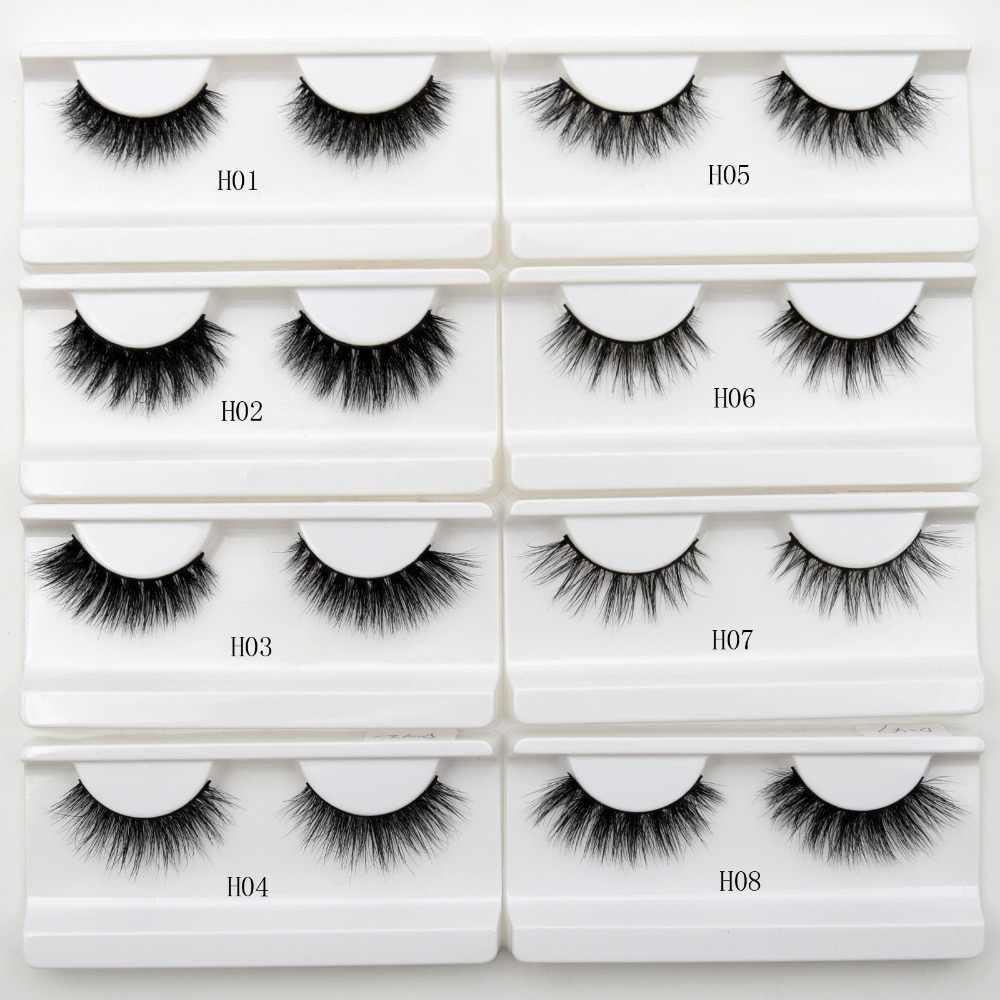 8cd4f4b158e Visofree Eyelashes 3D Mink Lashes natural handmade volume soft lashes long  eyelash extension real mink eyelash