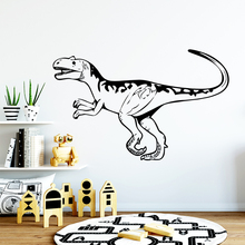 Cute dinosaur Home Decor Wall Stickers Decor Living Room Bedroom Removable Removable Decor Wall Decals free shipping laundry waterproof wall stickers home decor living room children room removable decor wall decals