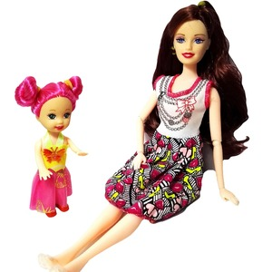 2 PCS/Lot beautiful barbie Dol