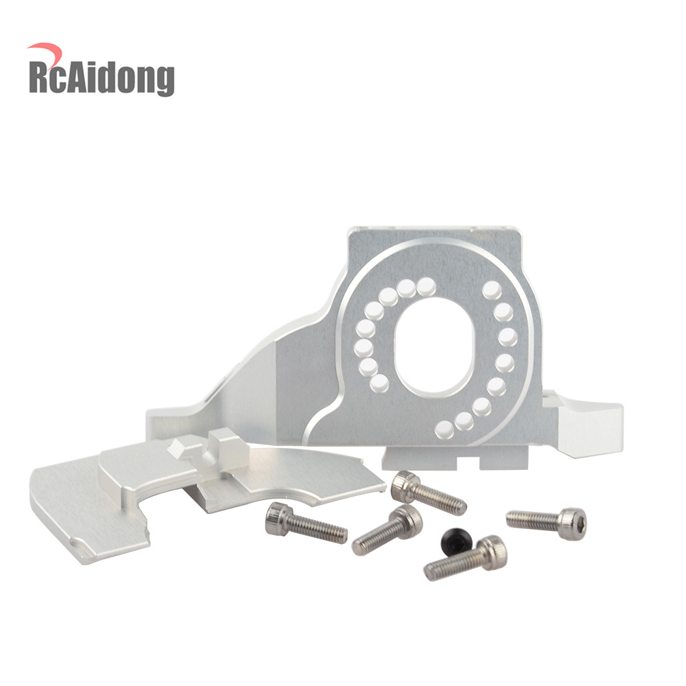 Image 4 - RCAIDONG Aluminum Alloy Motor Mount Heat Sink for Traxxas TRX 4 TRX4 #8290 1/10 RC Crawler Car-in Parts & Accessories from Toys & Hobbies