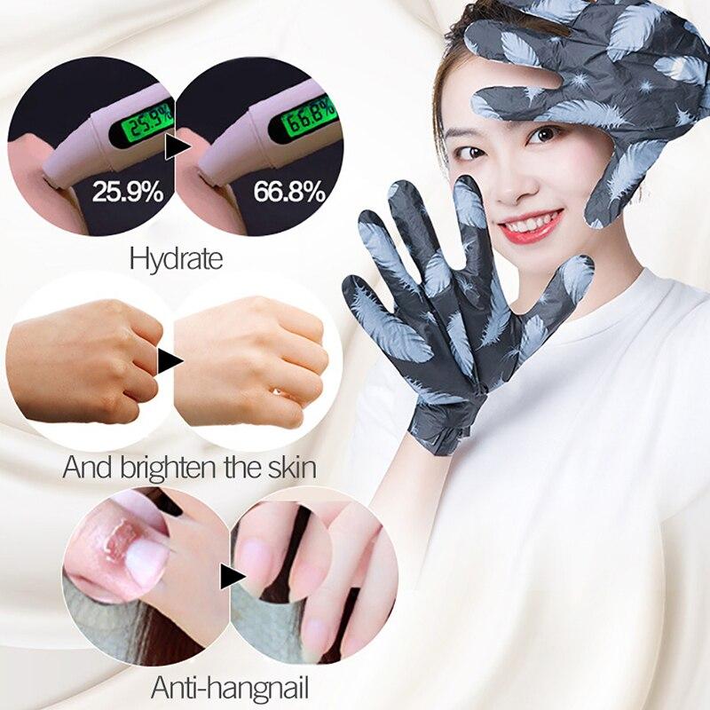 Energetic Volcanic Mud Extract Moisturizing Hand Mask Super Smoothing Whitening Hand Gloves Anti-aging And Moisturizing Glove Skin Care