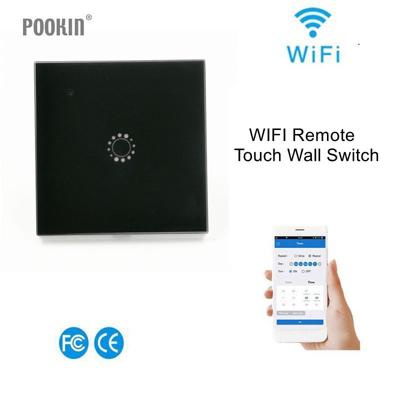 86 Type EU & UK standard WiFi Remote Touch Wall switch Series RF 433/ APP Wall Light Switch 1 /2 /3 Gang Switch Smart Home sonoff t1 us smart touch wall switch 1 2 3 gang wifi 315 rf app remote smart home works with amazon free ios and app ewelink
