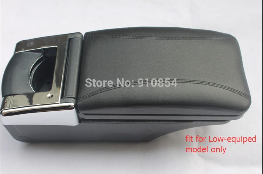 ФОТО Accessories black! Armrest Arm Rest Center Console Storage Box for Suzuki Swift 2011 2012