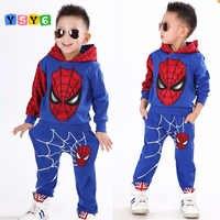 2018 nouvel an de l'araignée garçons vêtements ensemble survêtement garçons printemps vêtements Spider-Man Cosplay Costumes enfants vêtements