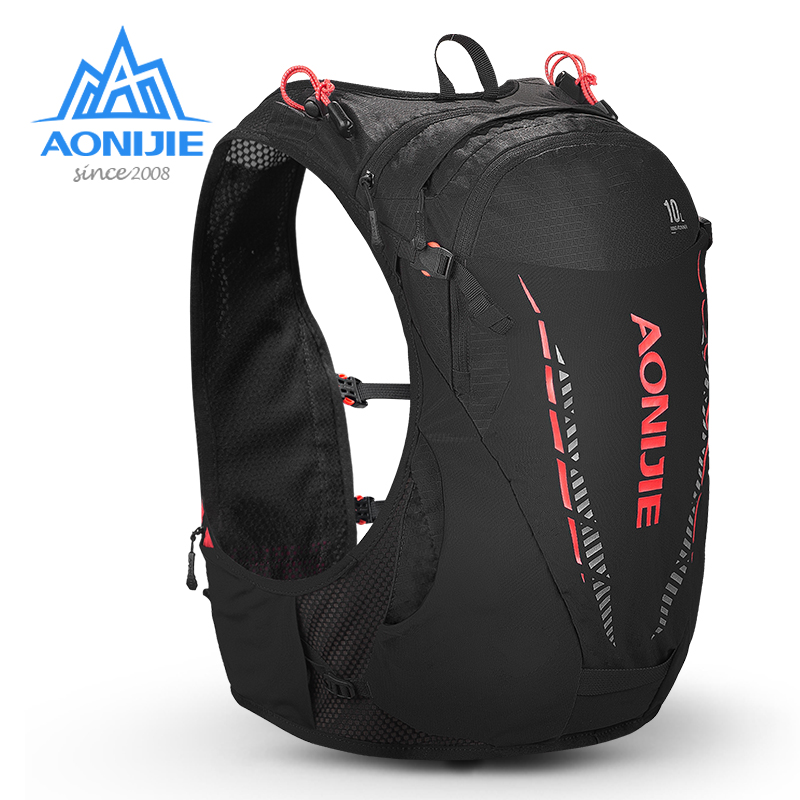AONIJIE 10L Hydration Backpack Bag Water Bladder Rucksack Lightweight Hiking Running Marathon Cycling C948