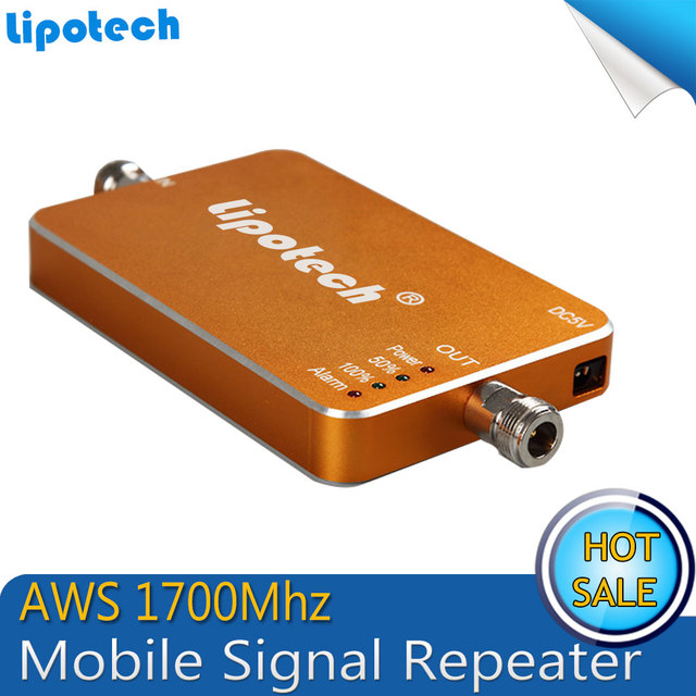 Best Price !!! Mini Golden AWS 1700Mhz 4G Repeater Mobile Phone 4G Signal Booster AWS Signal Repeater Amplifier
