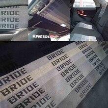 Nowy materiał 100CM x 160CM JDM BRIDE samochód wyścigowy siedzenia tkaniny tkaniny panny młodej (1 sztuk = 1m * 1.6m)