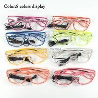 Дешевые Высококачественные оптовые продукты 20 штук EL проволочные очки Rave очки для вечеринки DIY Декор с active Sound active Driver