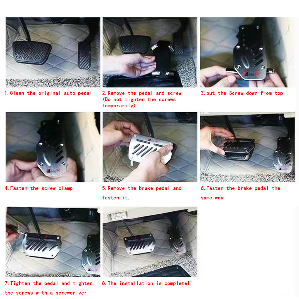 Car Pedals Universal  (2)
