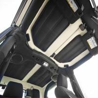 Chuang Qian Car Accessories Hardtop Sound & Heat Insulation Cotton Pad Kit 2 Door for Jeep Wrangler JK 2011 2017