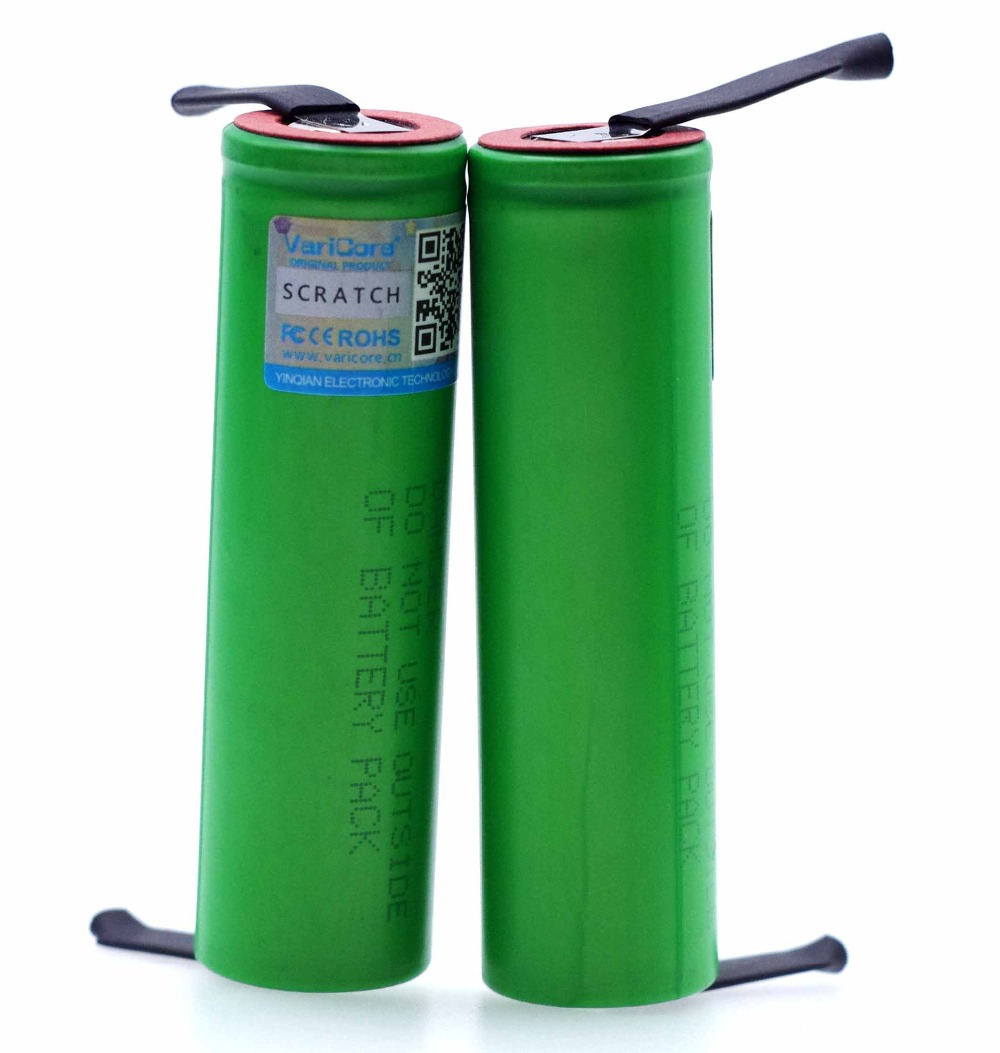 Image 4 - VariCore New 3.6V 18650 US18650VTC4 2100mAh VTC4 20A 30A Discharge Rechargeable battery Welding Nickel Sheet-in Replacement Batteries from Consumer Electronics