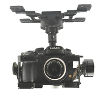 HG3D+ 3 Axis Brushless Gimbal 360 Degree Integrated HDMI to AV Remote shutter for GH3/4/5 Aerial Photography Quadcopter