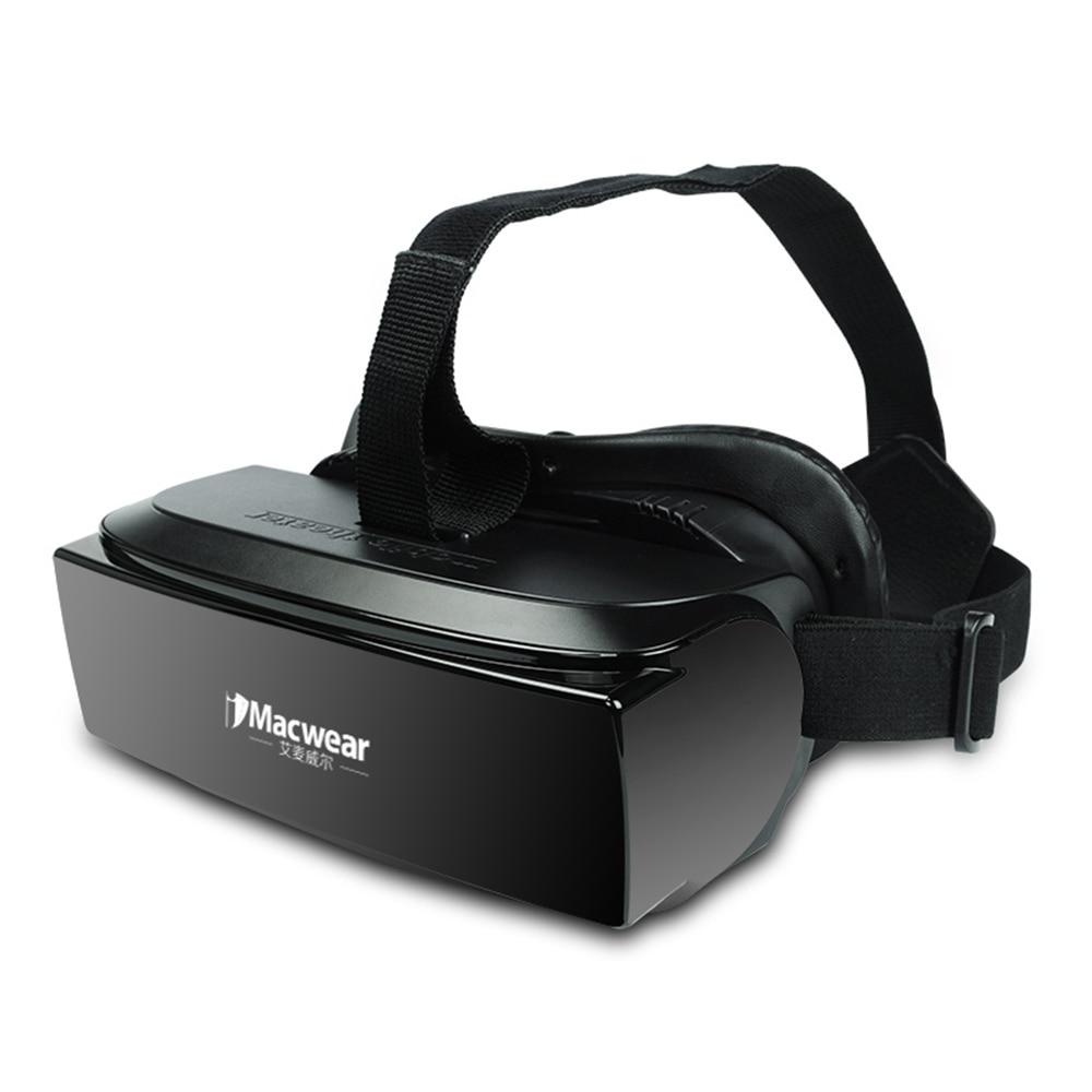 Newest <font><b>iMacwear</b></font> V1 80 Inch Personal Private 3D <font><b>Mobile</b></font> <font><b>Theater</b></font> TF card USB VR Virtual Reality <font><b>Glasses</b></font> Movie Video For Smartphone