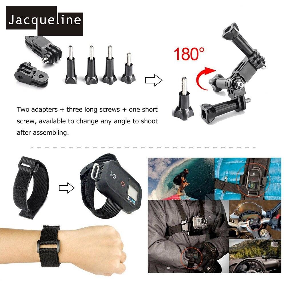 Jacqueline za dodatke Strap Mounts za Gopro hero HD hero 5 4/3 + za - Kamera in foto - Fotografija 6