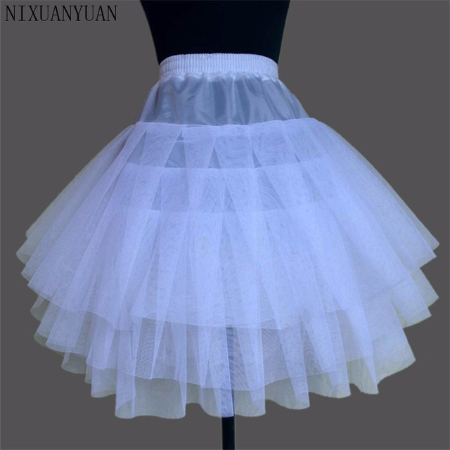 New Children Petticoats for Formal/Flower Girl Dress 3 Layers Hoopless Short Crinoline Little Girls/Kids/Child Underskirt 1