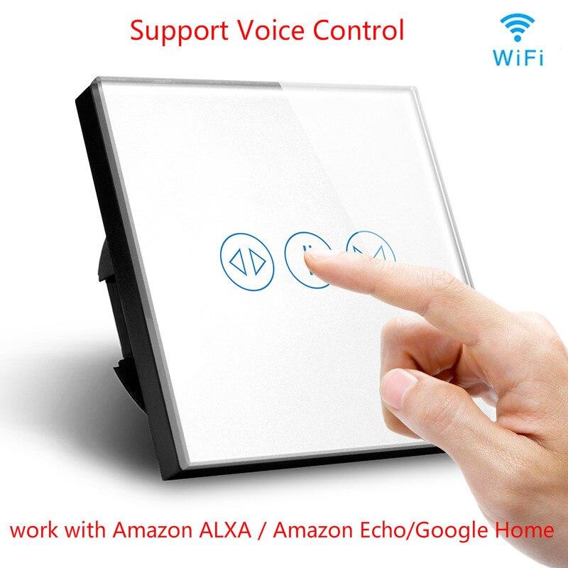 Mur WiFi rideau rouleau interrupteur téléphone APP contrôle Support Alexa/Echo/Google domotique Module d'automatisation intelligent bricolage US/AU/EU/UK