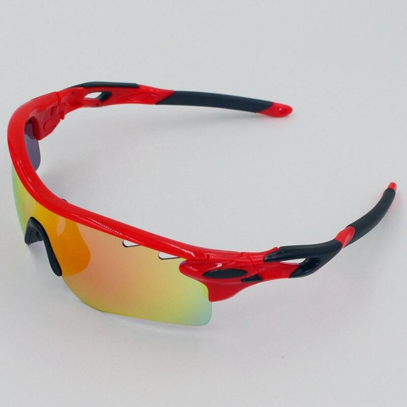 Prix pour 5 Lentilles UV400 Polarisé Vélo Lunettes Hommes VTT Vélo Vélo Balade à Vélo lunettes de Soleil Coupe-Vent En Plein Air Lunettes De Sport Lunettes