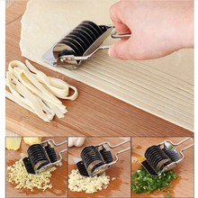 Stainless Steel Manual Garlic Ginger Crusher Section Pressing Machine Noodles Cut Knife Shallot Cutter spaghetti Spaetzle