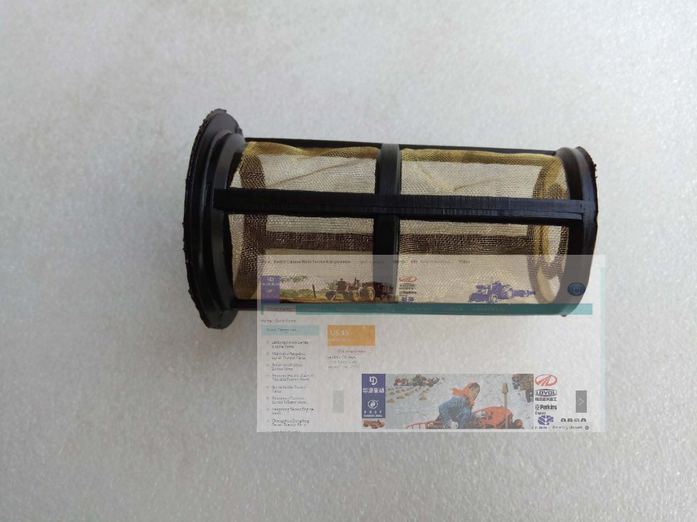 Fengshou estate 180 tractor parts, the fuel screen (filter) for fuel tank, part number: 18.50.102 auto fuel filter 163 477 0201 163 477 0701 for mercedes benz