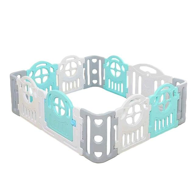 Baby Playpen Toddler Kids Nursery Activity Large E Play Center Indoor Outdoor Yards Plastic Panel Fence