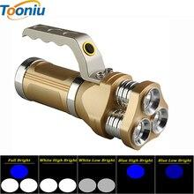 ФОТО powerful portable led flashlight 3 cree q5 7000lm 5 modes torch powerful camping hunting miner's lamp lanteran torche flashlight