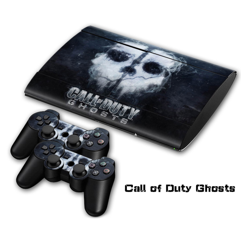 Call of Duty Ghosts Vinyl Skin Sticker For Sony PlayStation 3 Super Slim Console and Controller Skin