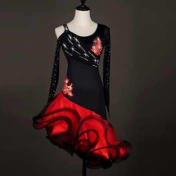 sexy Latin Dance Dress Women latin dress for girls salsa tango waltz competition costumes latin performance dress woman - DISCOUNT ITEM  15% OFF All Category