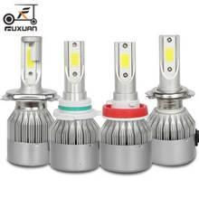 цены NEW Enhanced 2 pcs Car Led Headlight Bulbs Lamp  H4 H7 9003 HB2 H11 LED H1 H3 H8 H9 880 9005 9006 H13 9004 9007 Auto Headlights