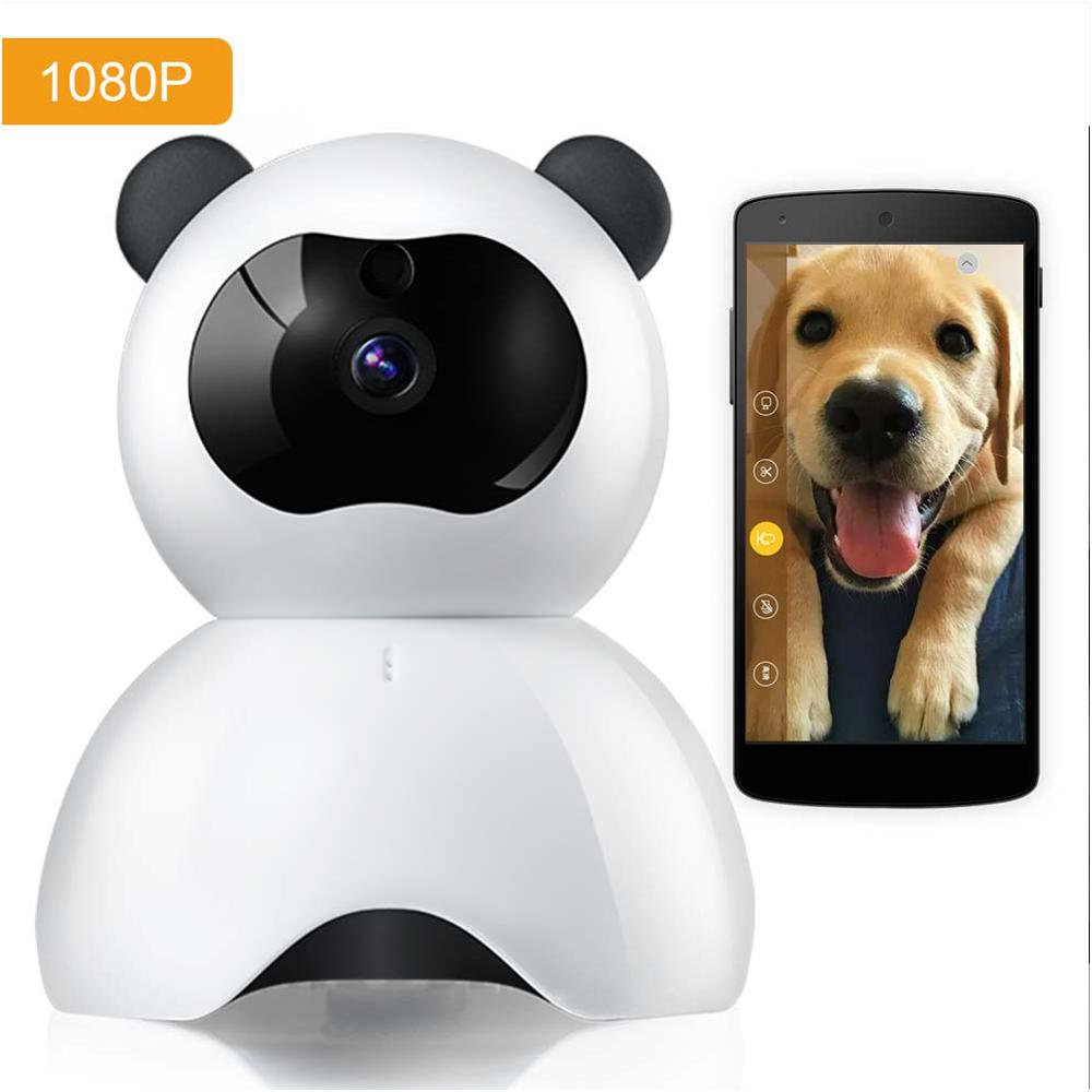 Pet-Ip-Camera That-Connect Android for Pet/baby Monitor 1080P FHD with iPhone Wifi Audio