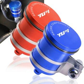 цена на For Yamaha YZF-R1 YZF R1 YZFR1 2005 2006 2007 2008 2009 2010 2004-2016 Brake Fluid Reservoir Clutch Tank Oil Fluid Cup Cover