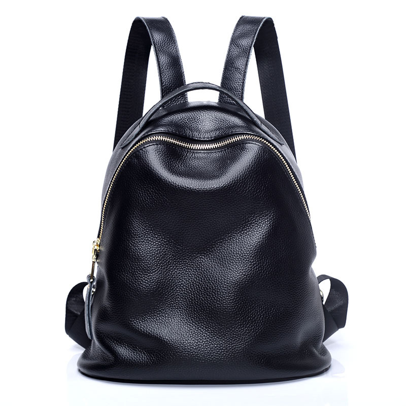 1109 New Fashion Top Grade leather Ladies Bag Multifunction Backpacks Cow Leather Bags Casual Women Backpack hmily 2018 new leather women s bags personalized ladies bag metal stamp accessory backpack korean style wave backpacks