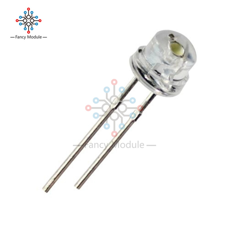 Electronic Components & Supplies Diodes Diligent 100pcs 3mm Ultra Bright Warm White Led For 100 Free Resistors 3mm Light-emitting Diode 3mm Water Clear Round Warm White Led