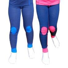 100% Merino wool thermal kids long underwear pants Soft Non itchy leggings unise